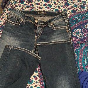 Silver Jeans (Suki Style)